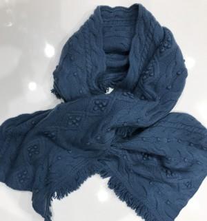 Faconnable Šalikas Mėlynas